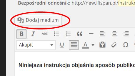 05 dodaj medium