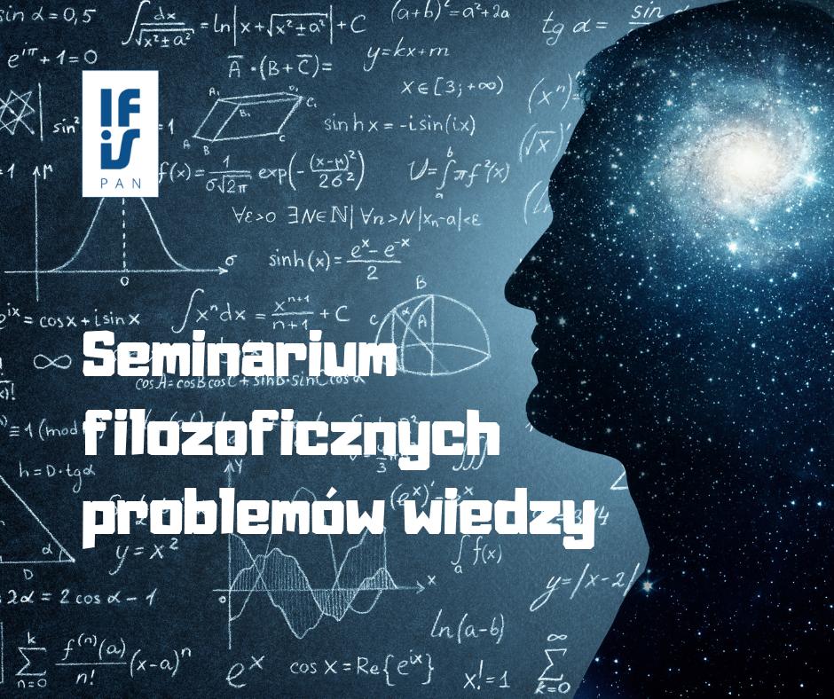 Logo smeinarium filozoficznych problemów wiedzy