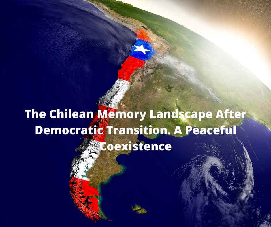 tytuł seminarium na tle mapy Chile