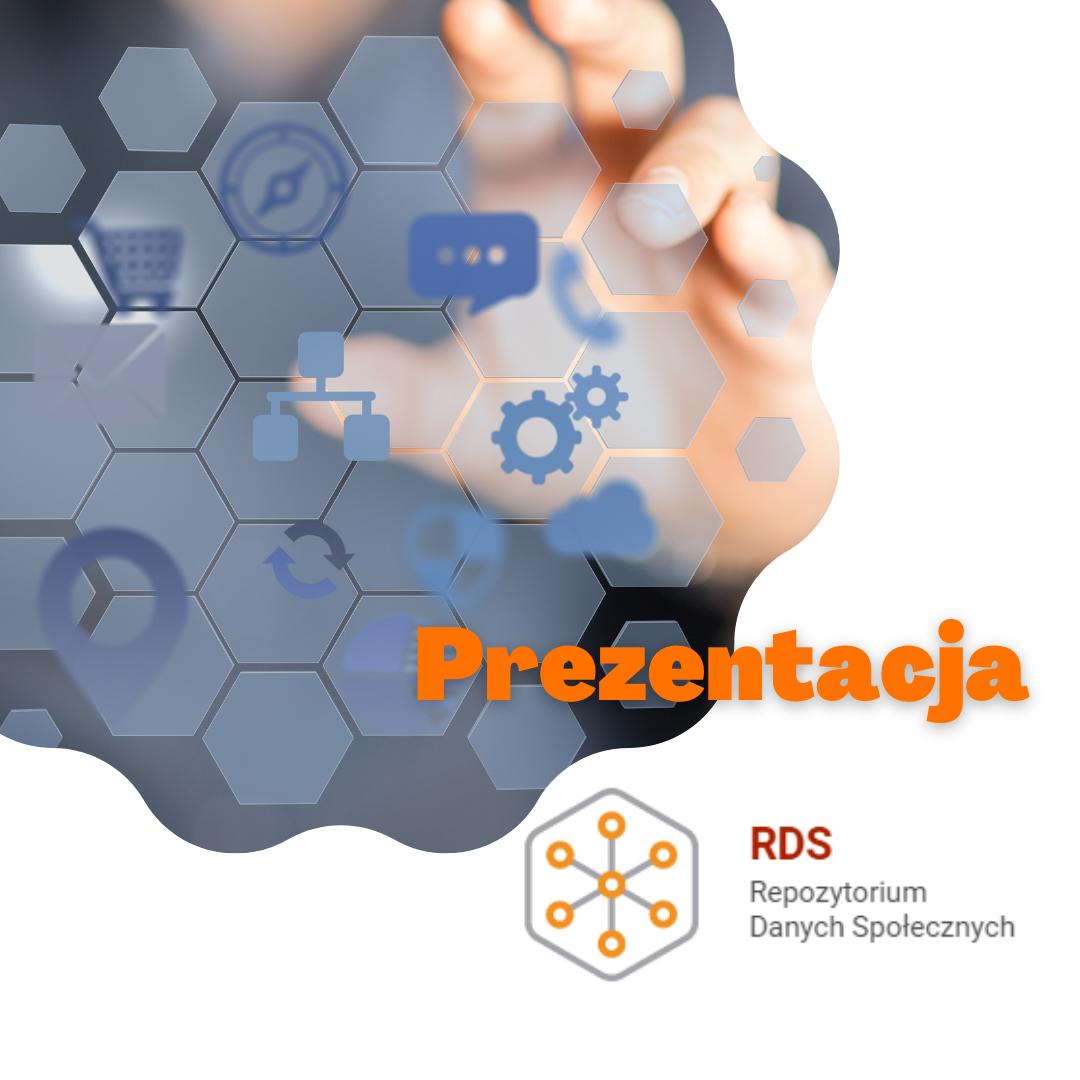 Logo webinarium i rysunek przedstawiający symbolicznie dane