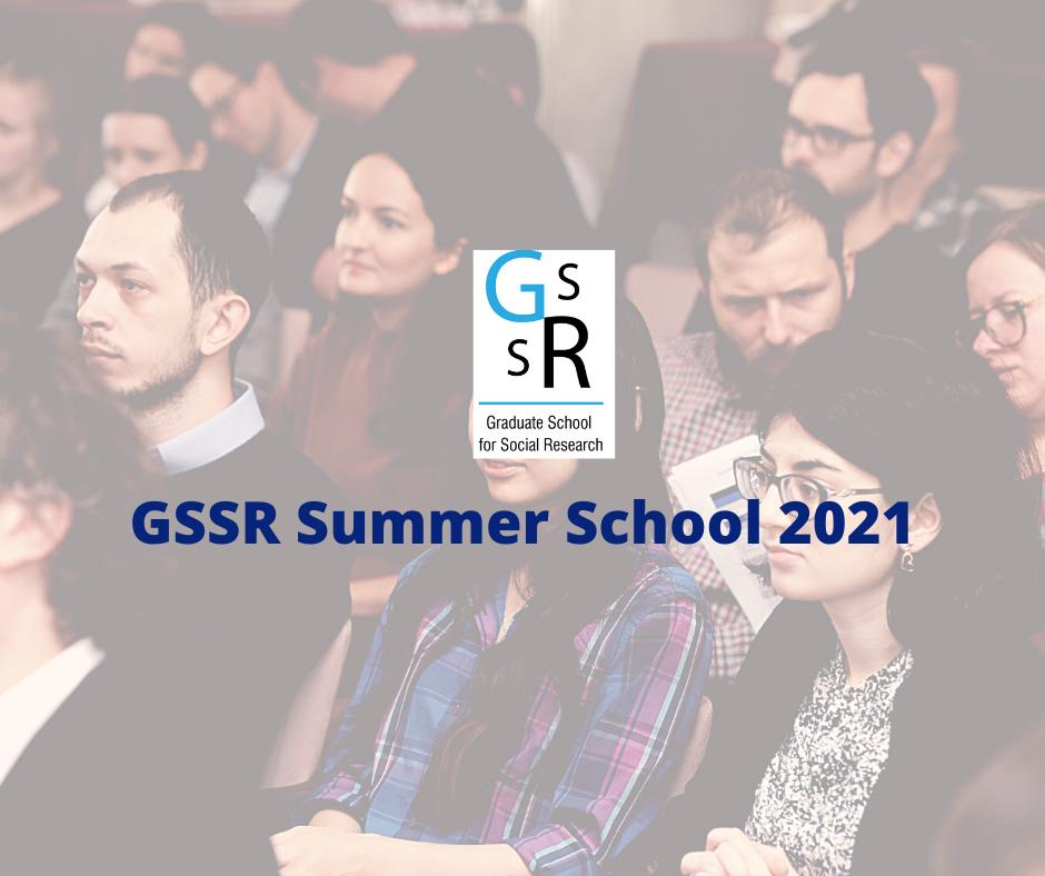 GSSR Summer School na tle zdjęcia studentów